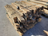 Batch Of 100 Reclaimed English Oak Rafters Beams Min 3ft to 4ft Long