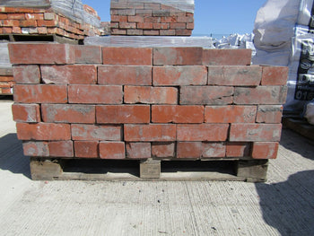 "Reclaimed Red Stock Facing Brick Accrington Ruabon 3"" (Per 100)"
