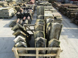 Batch of 100 Linear Feet of Reclaimed Sandstone Ridge Capping