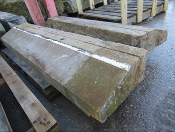 Reclaimed Stone Bay Plinth Course