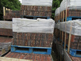 Reclaimed Plain Clay Roof Tiles Rosemary Red Machine Made (Per 1000)