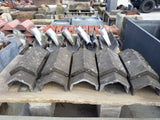 Reclaimed Redland Grey Delta Cut Concrete Vent Ridge (10 Available)