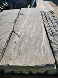 "New Natural Stone Riven Wall Copings 12"" Wide 1M Long"