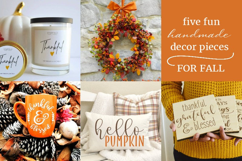Fall Handmade Home Decor