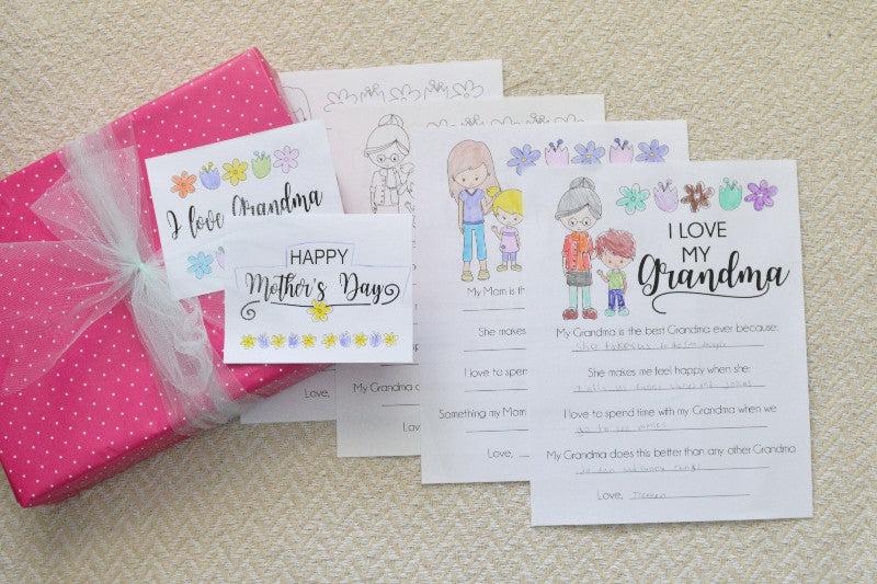 Mother's Day Printable Card Kit