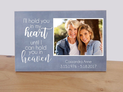 personalized sympathy photo gift