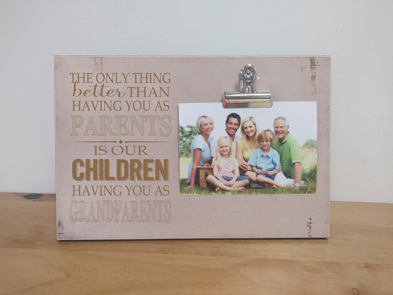 grandparent photo frame, grandparents day gift mother's day gift father's day gift
