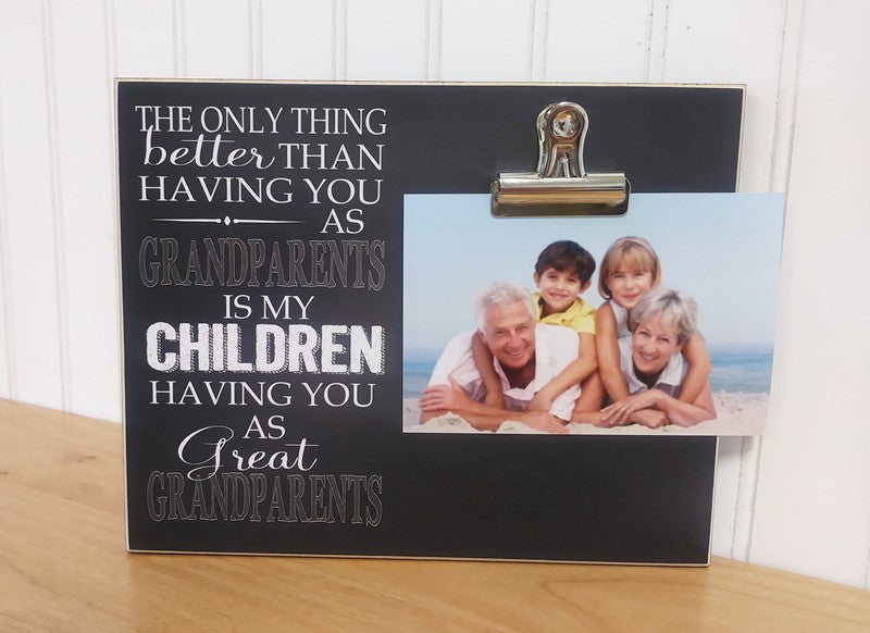 great grandparent gift photo frame, father's day gift, mother's day gift, grandparents day gift