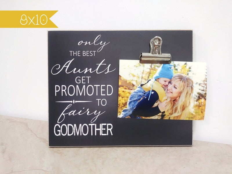 photo frame godmother gift