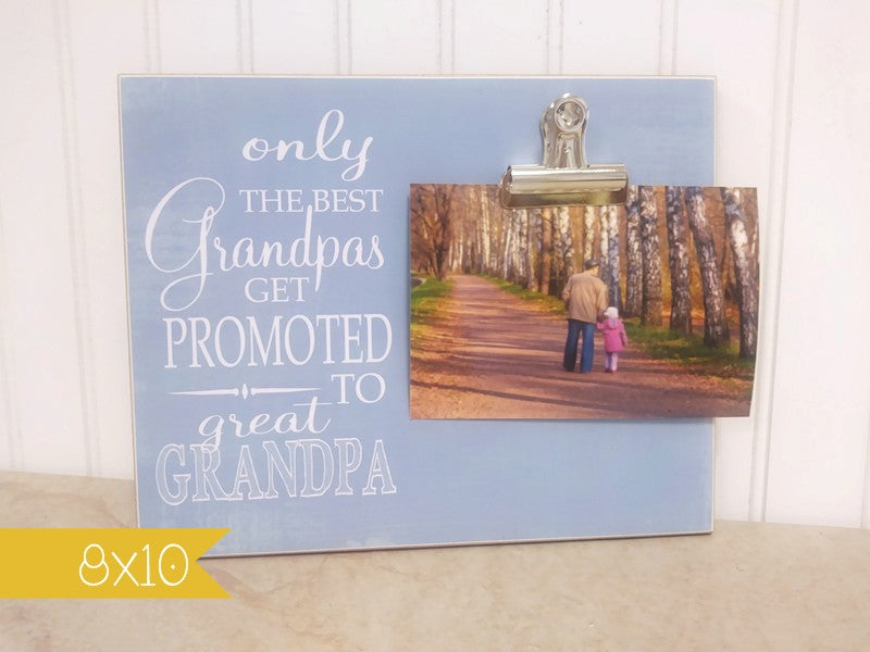 grandpa picture frame, great grandpa gift, gift for great grandpa, grandchidlren's photo frame
