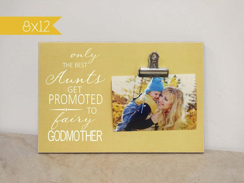 fairy godmother picture frame gift for godmother
