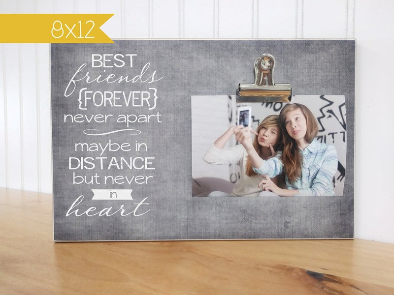 best friends forever picture frame gift
