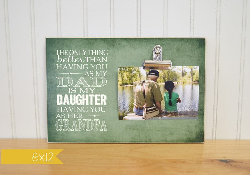 fathers day gift idea, grandparents day gift for grandpa