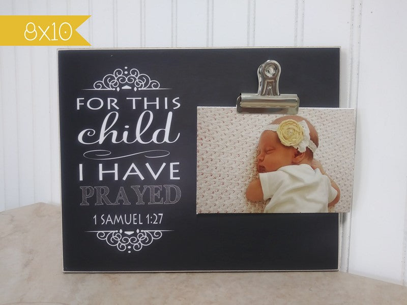 baby announcement photo frame