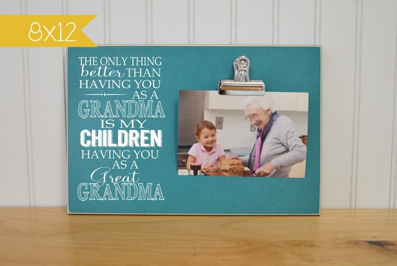 grandchildren photo frame gift from grandchildren
