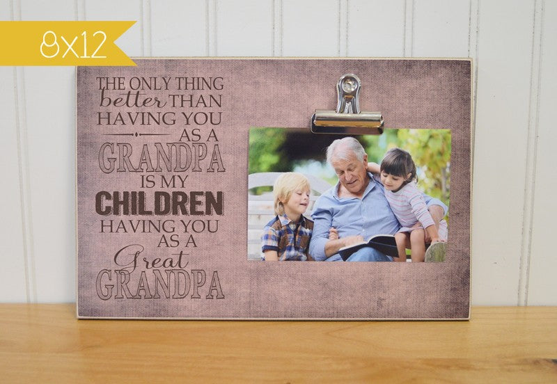 fathers day gift idea, gift for great grandpa, grandpa gift