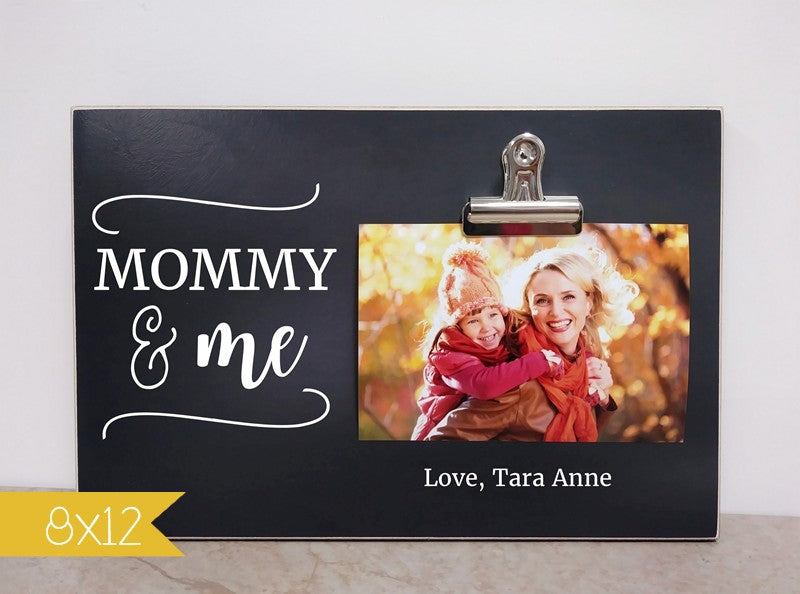 mommy and me picture frame custom gift for mom  mothers day gift