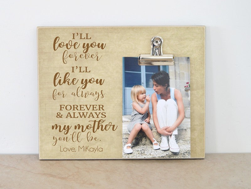 i'll love you forever gift for mothers day gift for mom