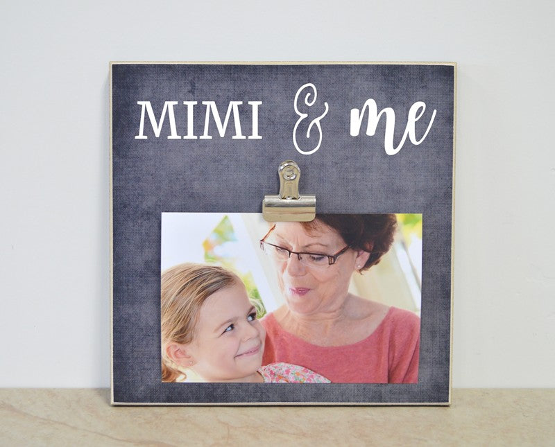 mothers day gift for mimi, mimi photo frame grandma gift, mimi and me frame