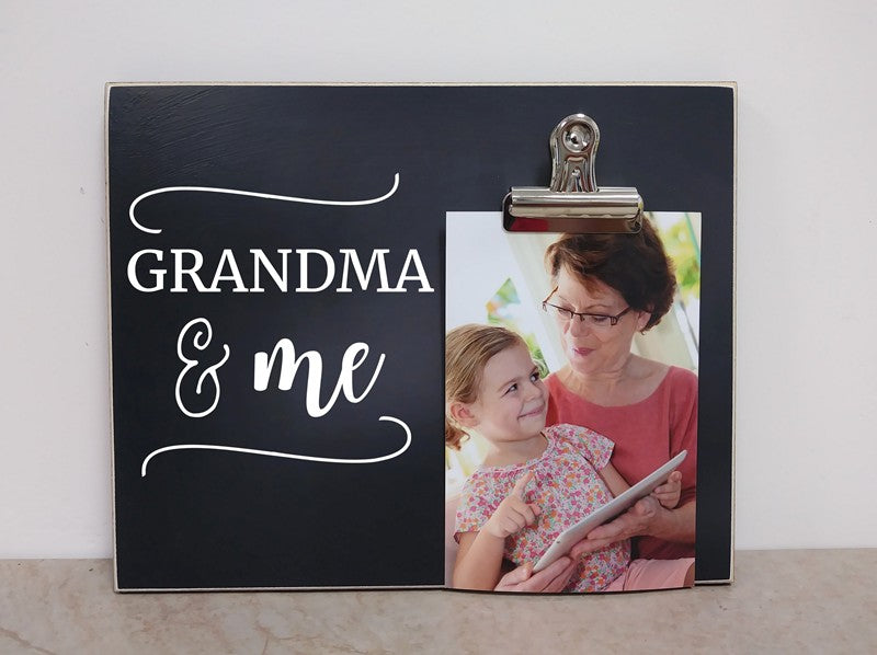 Grandma & Me, Custom Photo Frame