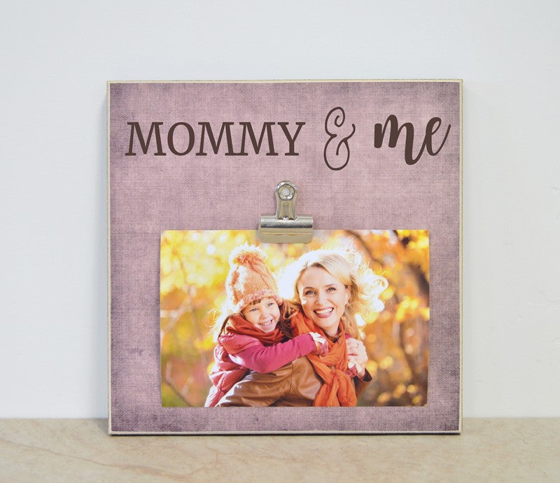 personalized mothers day gift for mom, mommy and me frame