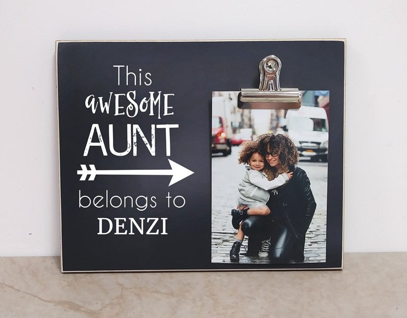 This Awesome Grandma, Personalized Picture Frame