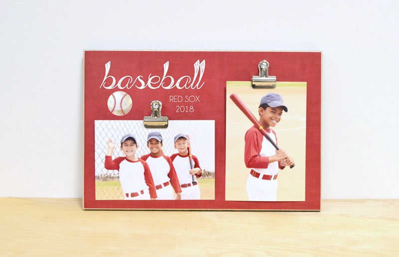 baseball photo frame, sports photo display
