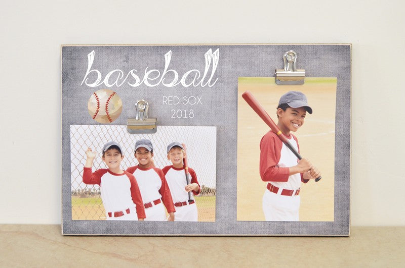 baseball photo frame sports team photo display