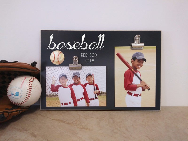 sports photo frame display for team photo and individual photo