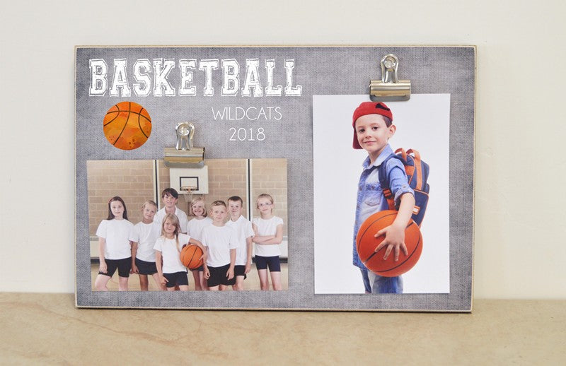 basketball sports photo frame, basketball player gift,