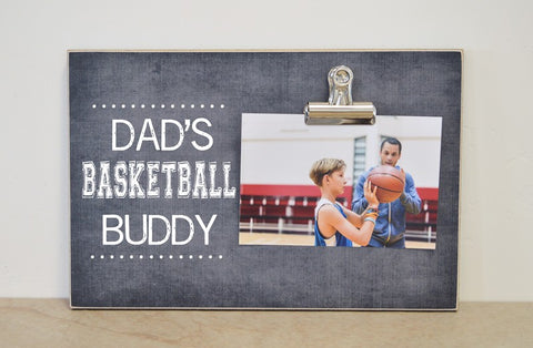 dads basketball buddy frame 8x12