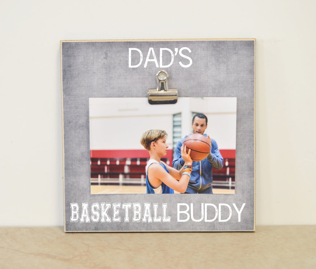 Dad's basketball buddy frame 8x8