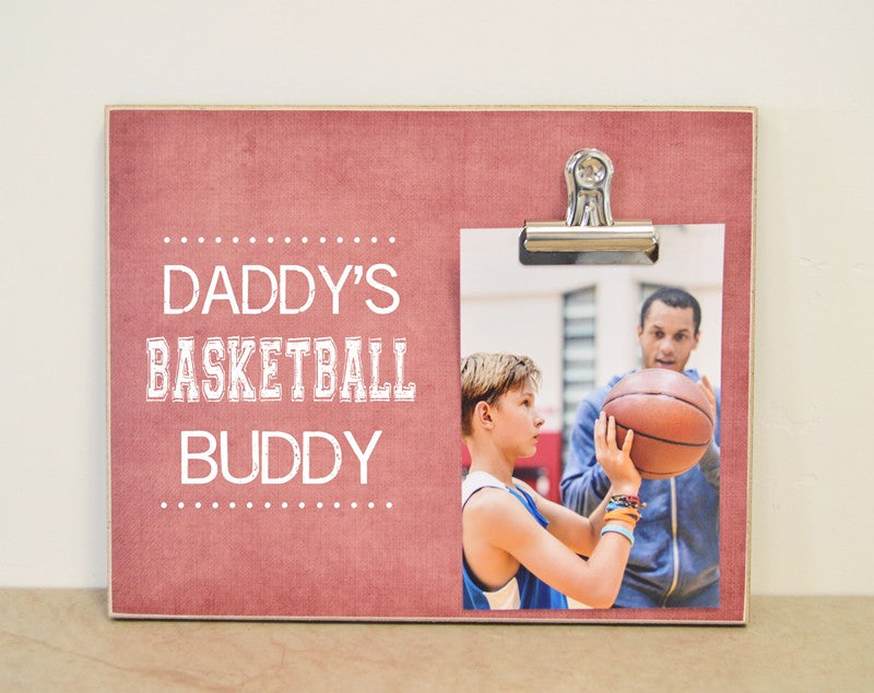 daddys basketball buddy frame 8x10