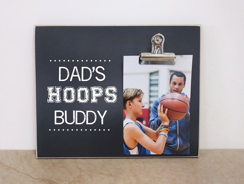 dads hoops buddy frame 8x10