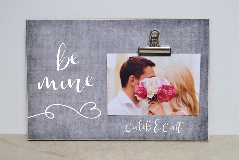 valentines day decoration be mine photo frame