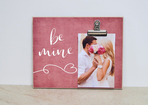 be mine valentines day photo frame valentines day gift