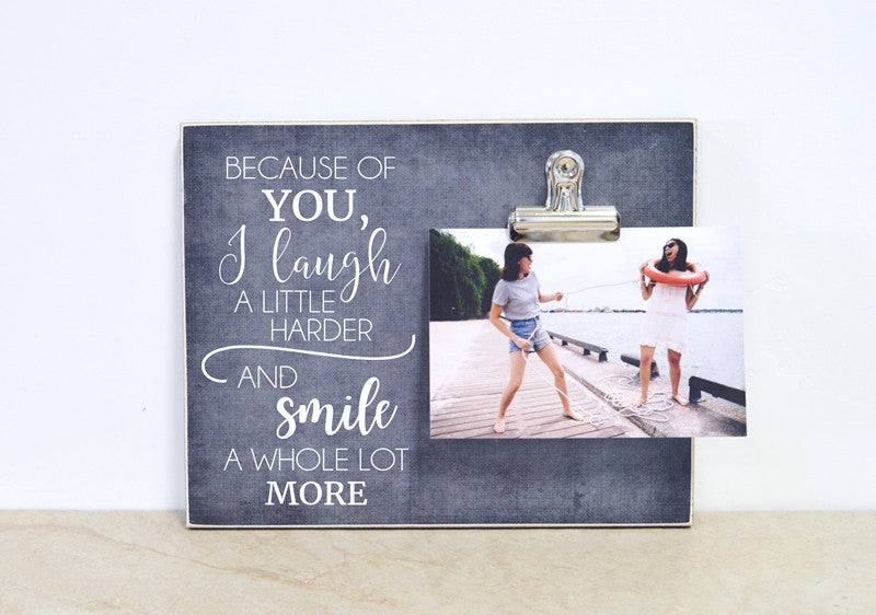 friendship photo frame gift for best friend