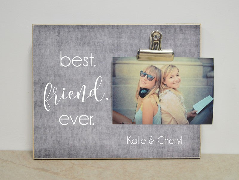 friendship gift photo frame, best friend ever