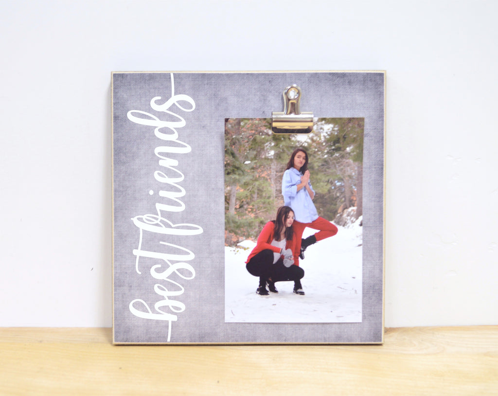 personalized best friend photo frame gift for bff
