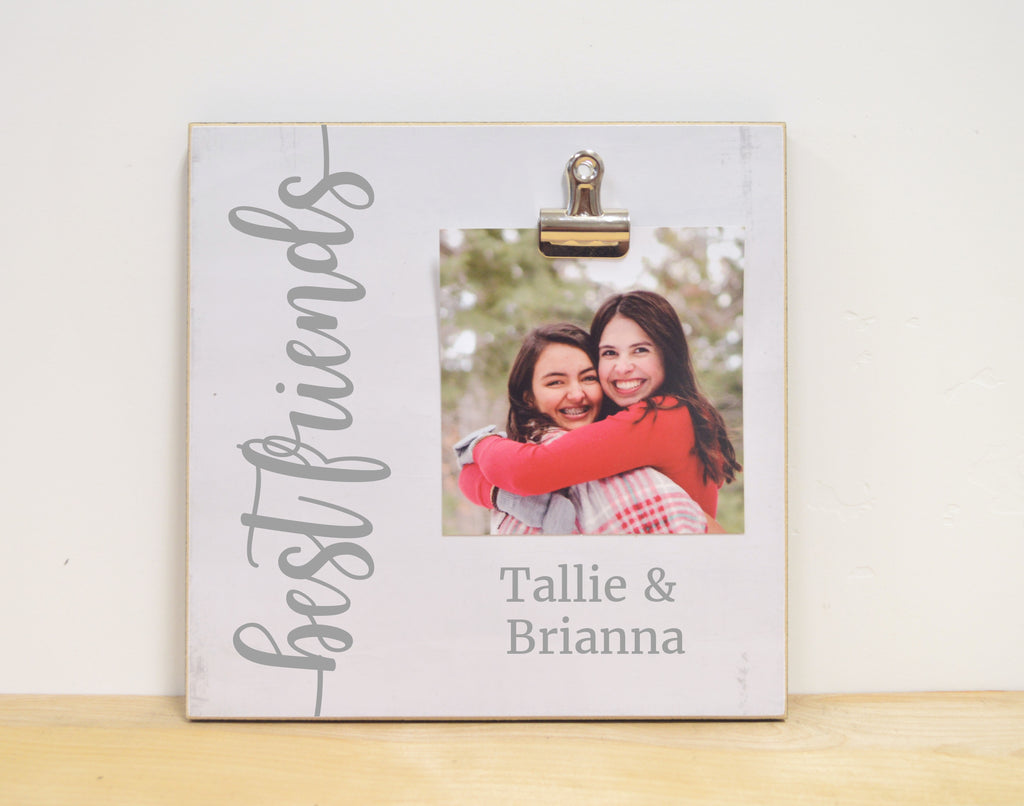 best friend gift, personalized photo frame