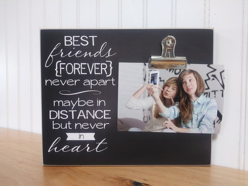 Best Friends Forever, Going Away Picture Frame – Dandelion Wishes