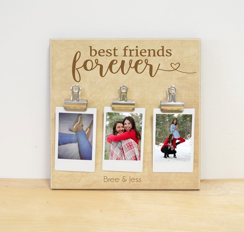 instax photo frame for best friends, moving away best friend gift, personalized photo frame, personalized picture frame, personalized best friend gift