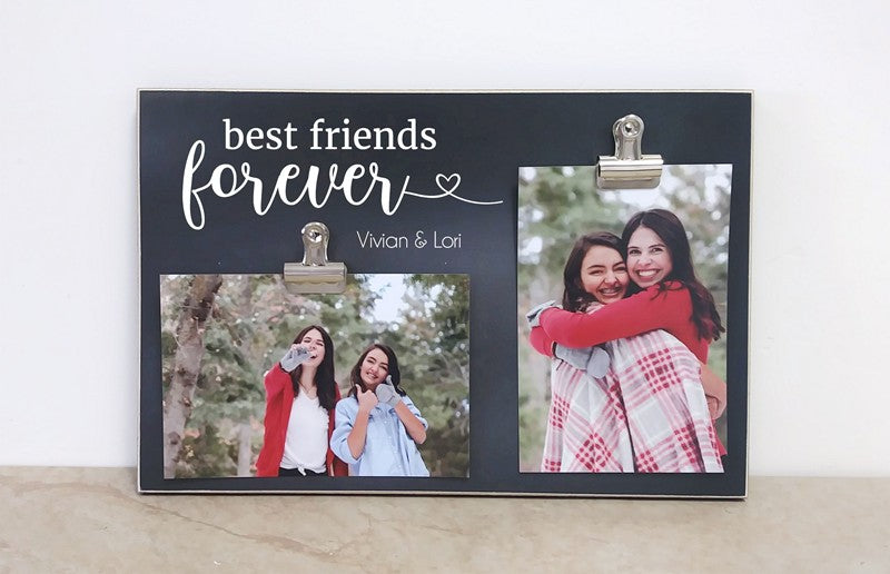 personalized best friend gift for best friend photo frame