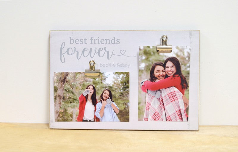 farmhouse photo frame gift for best friend personalized gift