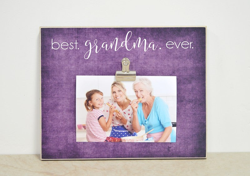 grandma photo frame - best grandma ever - mothers day gift