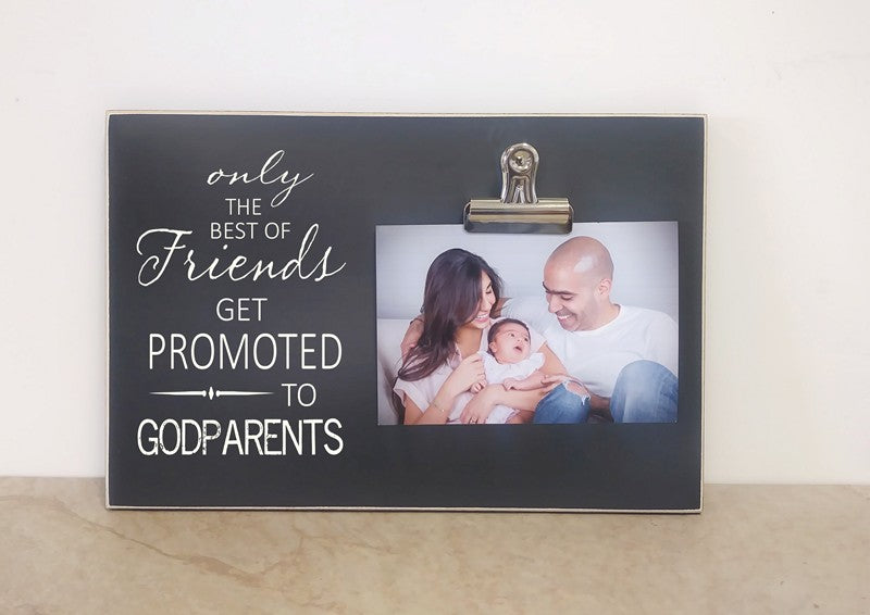 godparent baptism day photo frame, baptism gift, godparent gift