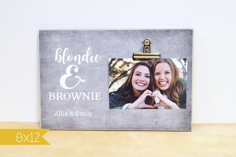 personalized photo frame gift for best friends gift