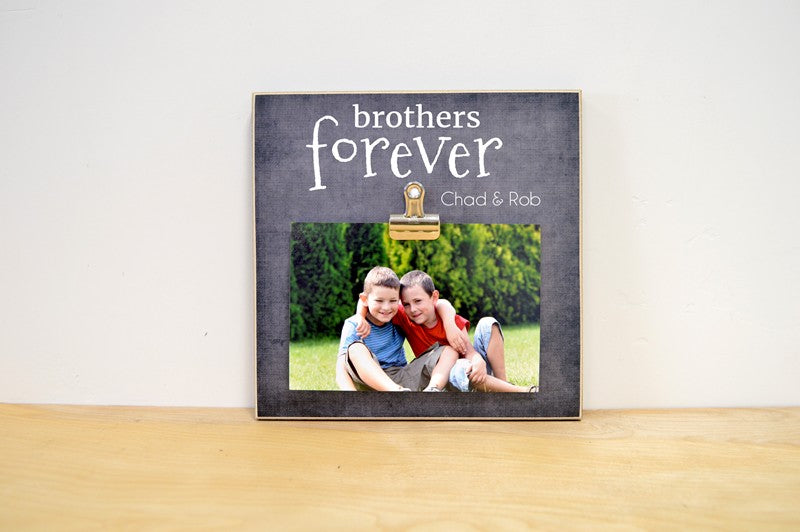 Brothers Forever Photo Frame - Fun for Instax or Polaroid Photos