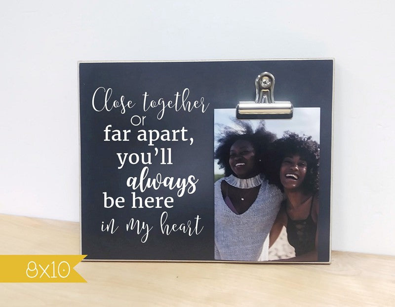 going away gift for best friends, best friend photo frame
