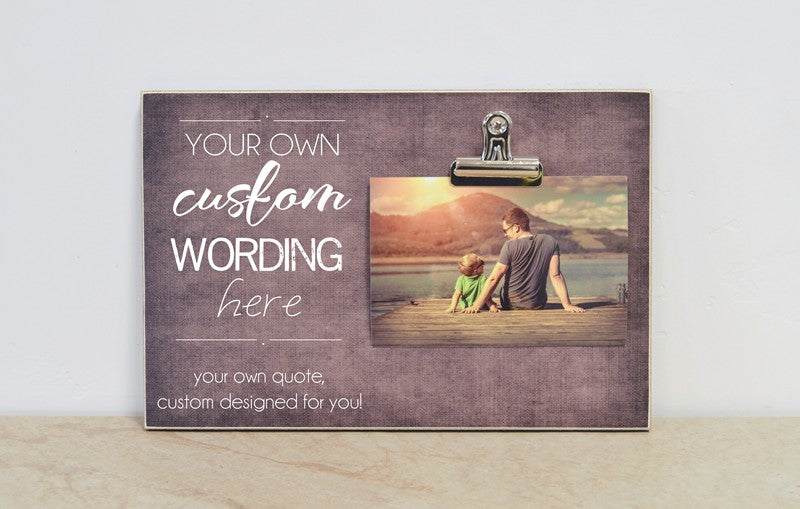 design your own custom frame, personalized frame made just for you